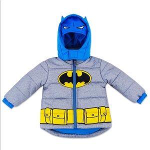 Other - Batman Toddler Puffer Jacket